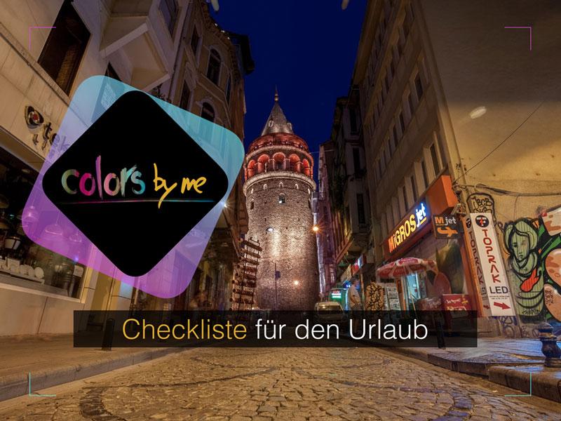 Fotografie-Checkliste für den Urlaub