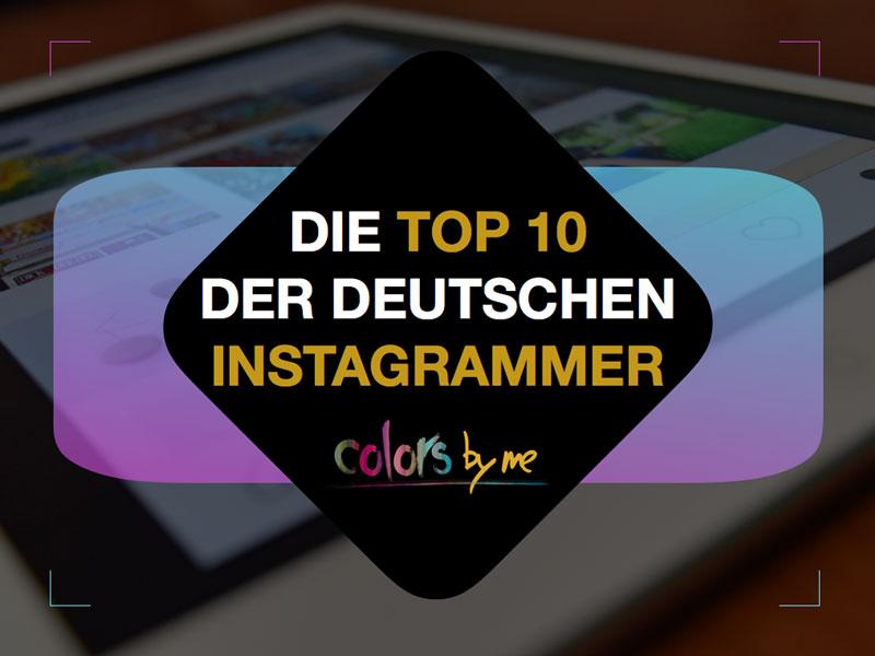 Die Top Ten der deutschen Instagrammer