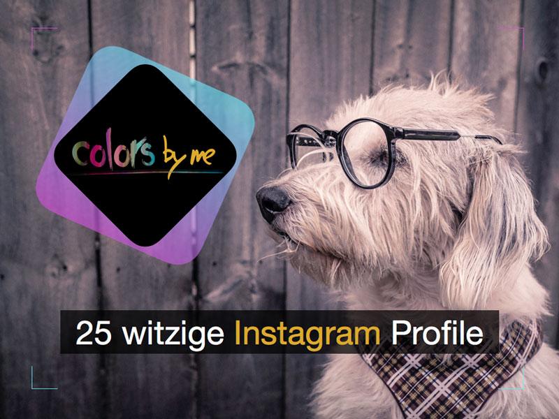 25 witzige Instagram Profile